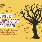 UPCYCLE ALWAYS OPEN IN NOVEMBER